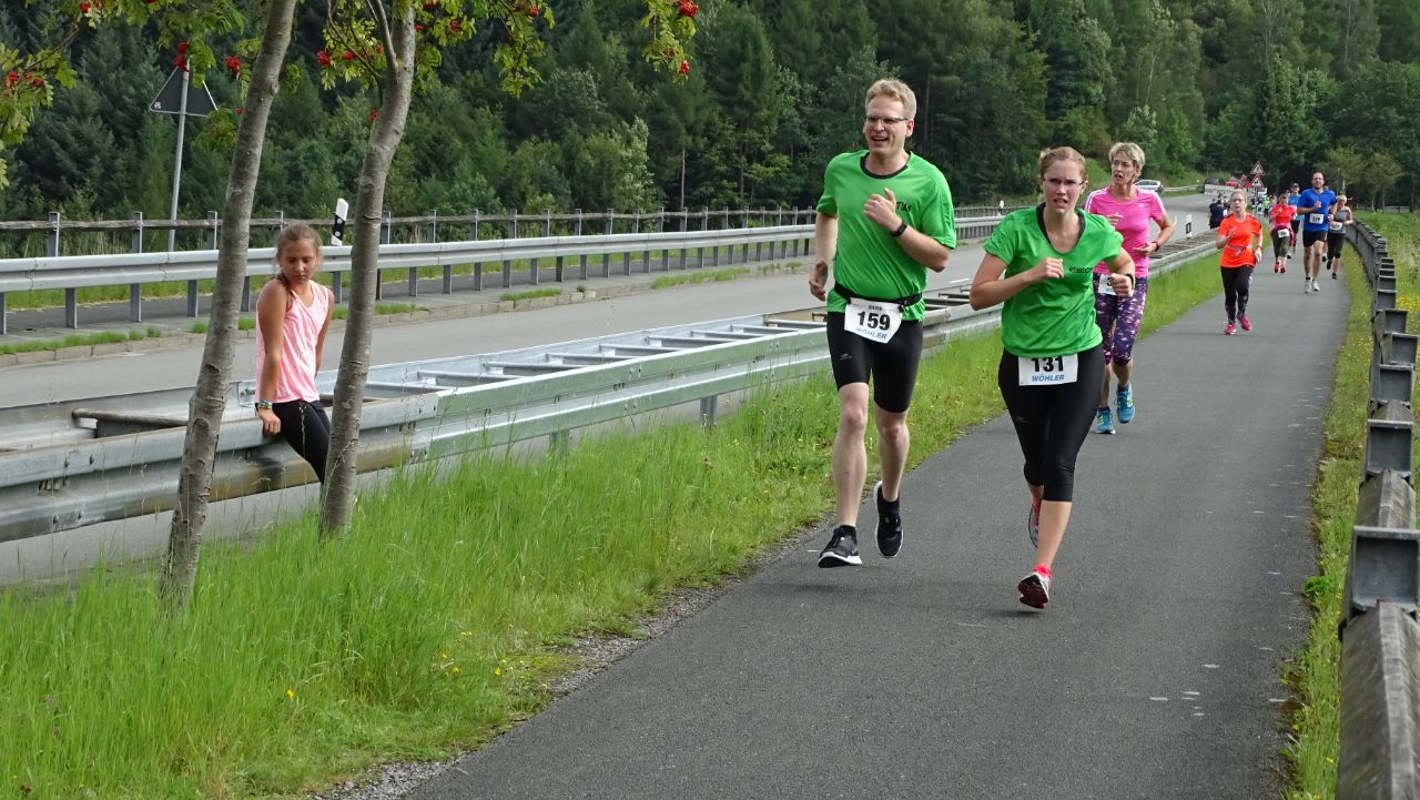 """35. Wöhler-Lauf """"Rund um die Aabachtalsperre"""". Wöhler-Lauf """"Rund um die Aabachtalsperre"""""""